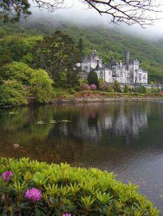 Ireland Kylemore Abbey Why Wait? Call #C.Fluker #traveldesigner 866-680-3211 www.whywaittravels.com