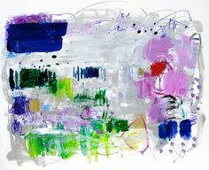 """Saatchi Online Artist: Suz Shippey Borski; Acrylic, 2013, Painting """"View From the Sea House"""""""