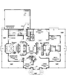 AmazingPlans.com House Plan #L338-990 - Country, Ranch, Traditional
