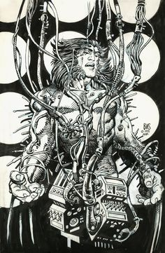 Wolverine aka Weapon X by Barry Windsor-Smith - Weapon X (1991)