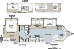 2 bedroom2 bath 5th Wheels and Travel Trailers  Travel