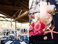 beach centerpieces. starfish wedding ideas. wedding photography. sonesta-wedding-hilton-head-island. W PHOTOGRAPHY 2014
