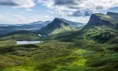 Quirang Mountain Range by Graeme Noble on 500px
