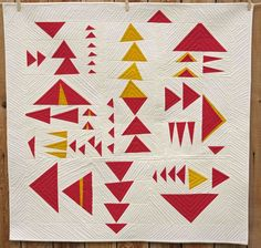 Love these triangles. by: Kristin Shields