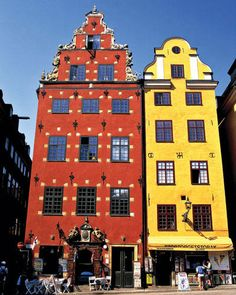 ELLE DECOR GOES TO STOCKHOLM    Old Square in Gamla Stan.