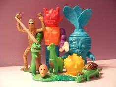 Lurker, Misty Fog, Deadbeat, Dinos, Monstre Hero by connell, via Flickr