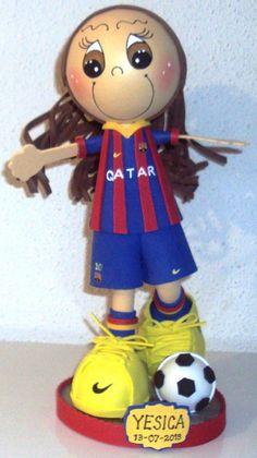 Jugadora del Barça. CCJordanMC