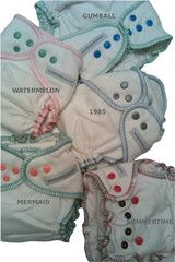 #7 - Sustainablebabyish OBF Fitteds - Amazing day and night diapers!