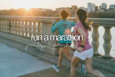 Like this would ever happen. I can barely run anything.