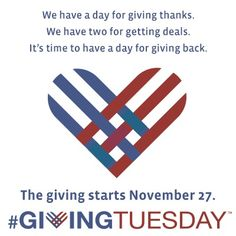 Become a Giver on #GivingTuesday
