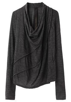 Forme d'Expression / Piped Long Sleeve Tee