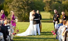 First Kiss at King Family Vineyards by Aaron Watson Photography
