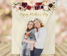 Mother's Day Banner Mothers Day Decorations Mother's Day Photo Booth Backdrop Happy Mother's Day Banner Mother's Day Gift Ideas For Mom Photo Booth Backdrop, Picture Backdrops, Backdrop Ideas, Photo Booths, Booth Ideas, Happy Mothers Day Banner, Mother's Day Banner, Mother's Day Background, Church Pictures