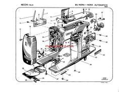 Singer 193M, 194M, 227M, 228M Sewing Machine Service