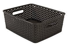 Úložný box ARNOLD Š30×D36×V14 cm hnědá   JYSK