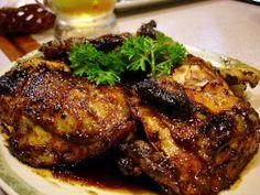 ayam pangang met santen