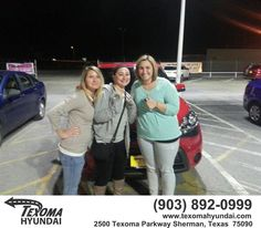 https://flic.kr/p/DTMVSC | Happy Anniversary to Rebecca on your #Kia #Soul from John Yance at Texoma Hyundai! | deliverymaxx.com/DealerReviews.aspx?DealerCode=L967
