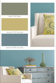 Living room! Interior paint colors | ... be the inspiration for your color scheme. Benjamin Moore paint colors