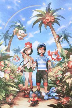 pokemon Sun and Moon Pokemon Mew, Pikachu, Pokemon Comics, Pokemon Fan Art, Cute Pokemon, Fanart Pokemon, Nintendo Pokemon, Pokemon Images, Pokemon Pictures