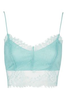 ffbb77e4806 Lace Hem Bralet - New In Fashion - New In - Topshop Europe Topshop Outfit