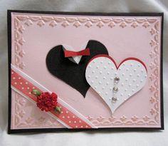 Handmade Greeting Card    Wedding red by karenirene on Etsy, $2.00