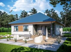 Beautiful House Plans, Beautiful Homes, Home Fashion, Gazebo, Outdoor Structures, How To Plan, Architecture, House Styles, Outdoor Decor