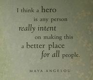 My hero...