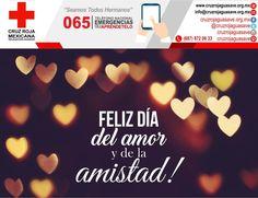La Amistad es el vinculo de dos almas virtuosas.- Pitagoras #DiadelAmorylaAmistad #SanValentin #CruzRojaGuasave