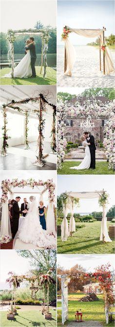 15 chuppah ideas white green jewish wedding chuppah with imaginative unique floral wedding chuppah altar decoration ideas junglespirit Choice Image