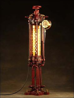Tessaquinary Table Lamp a handmade steampunk by JWKinseysArtifice, $3500.00