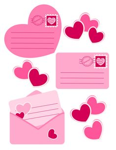 Printable Journal notes for Valentines