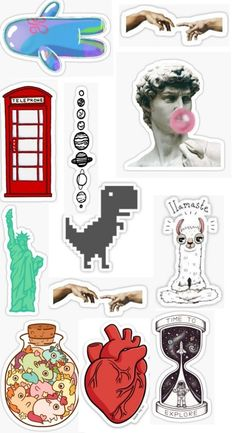 Meme Stickers, Tumblr Stickers, Phone Stickers, Journal Stickers, Cool Stickers, Printable Stickers, Planner Stickers, Preppy Stickers, Homemade Stickers