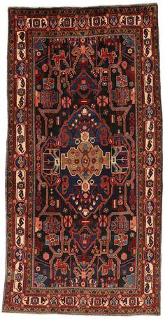 Nahavand - Hamadan Persialainen matto 328x163