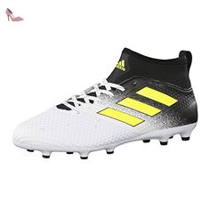 adidas Ace 17.3 FG, Chaussures de Football Entrainement Homme, Blanc  (Footwear White/