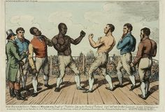 "Tom ""The Moor"" Molineaux – was an African-American bare-knuckle boxer. He spent much of his career in Great Britain and Ireland, where he had some notable successes. Mendoza, Bare Knuckle Boxing, Black History Facts, African Diaspora, African American History, Black People, Credit Cards, Martial Arts, At Least"