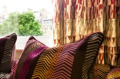 Christopher Farr Fabrics - availabe through ST LEGER AND VINEY