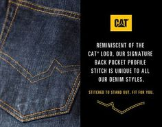 Check out our denim arrivals, Stitched to stand out, Fit for you. #StichedToStandOutFitForYou www.catapparel.co.za/shop/jeans-c119.aspx …