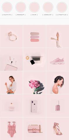 Direção de Arte para feed de Instagram para Ladylike.Style ⋆ Lu Amaral Studio Instagram Feed Layout, Instagram Grid, Instagram Design, Ladylike Style, Minimal Fashion, Instagram Fashion, Bespoke Jewellery, Holi, Template
