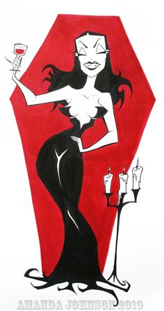'Vampira Again' by skullberries.