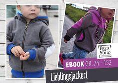 eBook Lieblingsjackerl, Gr. 74 - 152 von Fred von SOHO auf DaWanda.com