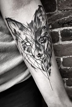 Inez Janiak fox tattoo