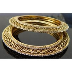 Gorgeous diamond bangles