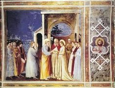 Giotto Di Bondone - Marriage of the Virgin