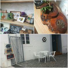 Quirky cafe in Funchal near mercado dos lavradores