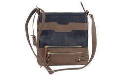 Rieker - Malá taška přes rameno v dvoubarevném provedení H1429-00 / černo-hnědá