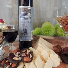 March 22, 2015 - D'Angelo Vineyards Estate Winery's 2008 Fortified Foch sweet red dessert wine with Dark Chocolate energy bites!  http://www.essexcountywineries.ca/wines/2015/20150322.htm