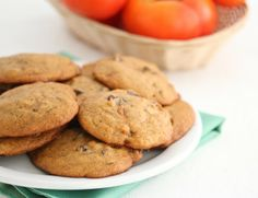 Persimmon Cookies - Persimmon recipes are so hard to find
