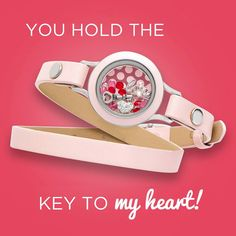 Origami Owl Key to My Heart Living Locket available at StoriedCharms.com - get for yourself or gift to someone you love! Order this look in one click!