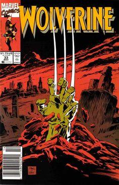 Wolverine #33 (1990), comic book