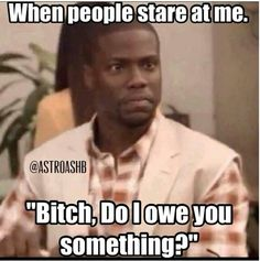 Kevin Hart...the hood in me...can't help it. Especially since I have starring…